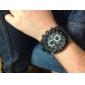 V6 Мужской Армейские часы Наручные часы Кварцевый Японский кварц силиконовый Группа Черный