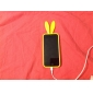 lapin étui souple de conception pour l'iphone 5/5s (couleurs assorties)