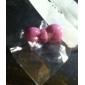 Pure Color бантом Пластиковые Anti-Dust Разъем для наушников (Ramdon цвет)