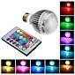 3W E26/E27 LED Globe Bulbs leds Integrate LED 500lm RGB Remote-Controlled AC 85-265