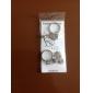 화살표 및 심장 스타일의 금속 커플 열쇠 고리 (1 쌍)