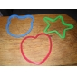 DIY Silicone Baking Mould Fritar ovo (3-Pack)