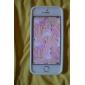 Мягкий чехол с кирпичами для iPhone 5 (разные цвета)