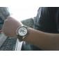 Men's Racing Design Dial PU Leather Band Quartz Wrist Watch (Assorted Colors) Cool Watch Unique Watch