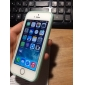 Moldura com Capa Traseira Transparente de Design Especial para iPhone 5/5S