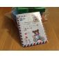 Конверт Stamp стиль ПВХ Держатель карты (случайный цвет)