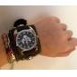 Mulheres Relógio de Moda Quartzo Banda Caveira Preta
