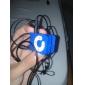 Leitor MP3 - Cartão SD e TF (Azul)