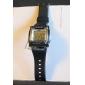 남성 스포츠 시계 디지털 시계 LCD 달력 크로노그래프 경보 디지털 밴드 블랙 화이트 핑크