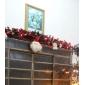 10M 6W 100-LED лампы на Рождество Хэллоуин, белый свет фестиваль украшения (110 / 220В)