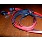 3,5 мм Объем управляема в ухо стерео наушники ж / плоского кабеля для iphone 6 iphone 6 плюс