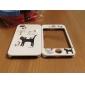 le cas du corps entier pour iPhone 4/4s - chat noir