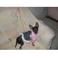 vestido estilo princesa denim para cães (xs-xl, rosa)