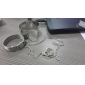 Punk Style Alloy Extra-wide Opening Bracelet(Assorted Colors) Christmas Gifts