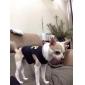 Cães Camiseta Smoking Preto Roupas para Cães Inverno Primavera/Outono Xadrez Casamento Ano Novo