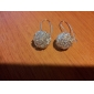 여성 드랍 귀걸이 의상 보석 은 도금 보석류 제품 파티 일상