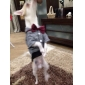 Dog Hoodie Clothes/Jumpsuit Red Gray Dog Clothes Winter Spring/Fall Jeans Cowboy Fashion