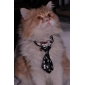 Кошка Собака пояс/Бабочка Одежда для собак Свадьба Черный Костюм Для домашних животных