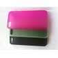 For iPhone 5 Case Ultra-thin / Frosted Case Back Cover Case Solid Color Hard PC iPhone SE/5s/5