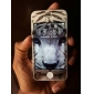 Fashion Special  Pattern Color Shining Protective Film Stick By Yourself Case Back Cover for iPhone4/4S