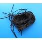 Классическая линия Кофе кожаный шнур и провод (10 шт / лота) (кофе)