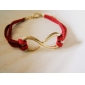 Women's Charm Bracelet Leather Bracelet Friendship Statement Jewelry Adjustable Fashion Personalized Costume Jewelry Leather Alloy