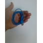USB A Male to Micro USB Male Cable, Blue (1M)