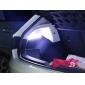 Impermeável com 30 centímetros 9W 18x5730SMD Tira de LED branca para carro (12V, 1-Par)