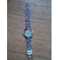 Mulheres Relógio de Moda Quartz Plastic Banda Leopardo Branco / Prata / Dourada / Bege marca-