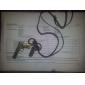 Z&X®  Handgun Pattern Cow Leather Necklace