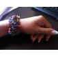 Colorful bracelet élastique Turquoise