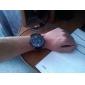 Мужчин Военный Многофункциональный Кожаный ремешок Quatz наручные часы
