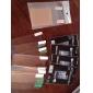 Protetor de Tela Transparente com Pano de Limpeza (Conjunto de 20, 5 Panos)