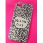 Because Cats Pattern PVC Back Case for iPhone 5/5S