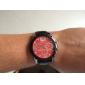 Masculino Relógio Esportivo Quartzo PU Banda Preta Azul Vermelho Amarelo