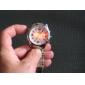 유니섹스 아날로그 - 디지털 듀얼 디스플레이 다이얼 스틸 밴드 손목 시계