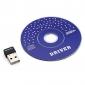 미니 2.4GHZ 150Mbps의 무선 어댑터를 USB2.0