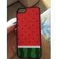 caso duro padrão melancia para o iphone 5/5s