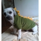 Dog Costume Hoodie Dog Clothes Cute Cosplay Cartoon Red Green Costume For Pets