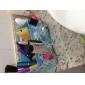 pliage cosmétiques quadrate support de stockage boîte pinceau de maquillage pot organisateur cosmétique (3 couleurs au choix)