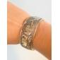 Women's Arc-shaped Elephant Statue Tibetan Silver Bracelet