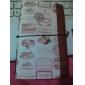 élégant motif cachemire cachet papier couverture souple portable (couleur aléatoire)