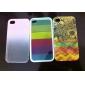 Capa Dura Com Padrão de Gotas de Chuva Romântico para iPhone 4/4S (Cores Diversas)