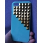 Or Pyramide rivette des goujons Caisse dure de PC pour l'iPhone 5/5S design (couleurs assorties)