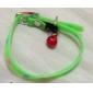 Chat / Chien Colliers Empreinte / Fluorescent Vert Plastique