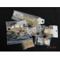 shixin® ethnique chaîne trois couches avec Tessel bandeaux d'alliages d'or pour les femmes (1 pc)