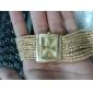 Women's Watch Bracelet Strap Watch Gold Diamond Case Alloy Band Cool Watches Unique Watches Fashion Watch