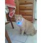 Colarinho Luzes LED Retratável Segurança Sólido Plástico Amarelo Vermelho Verde Azul Rosa claro