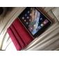 Draaibaar Ontwerp Retro Britse Vlag Patroon PU Leather Case met standaard voor iPad mini