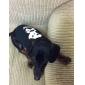 고양이 / 개 후드 블랙 강아지 의류 겨울 해골